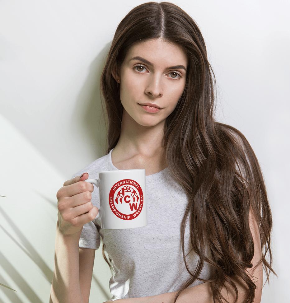 Image of ICW Blood Red Logo Mug (11 oz)