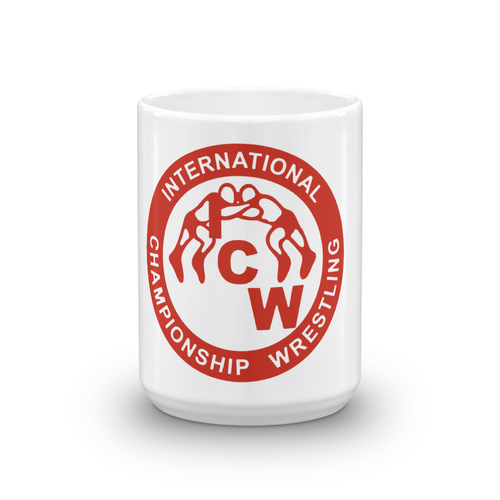 Image of ICW Blood Red Logo Mug (11 oz & 15 oz)