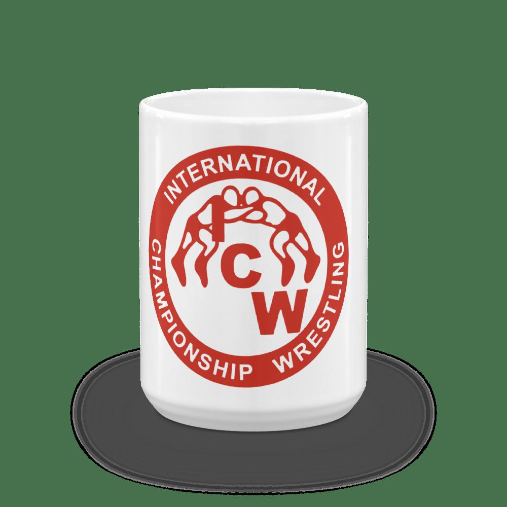 Image of ICW Blood Red Logo Mug (11 oz & 15 oz)