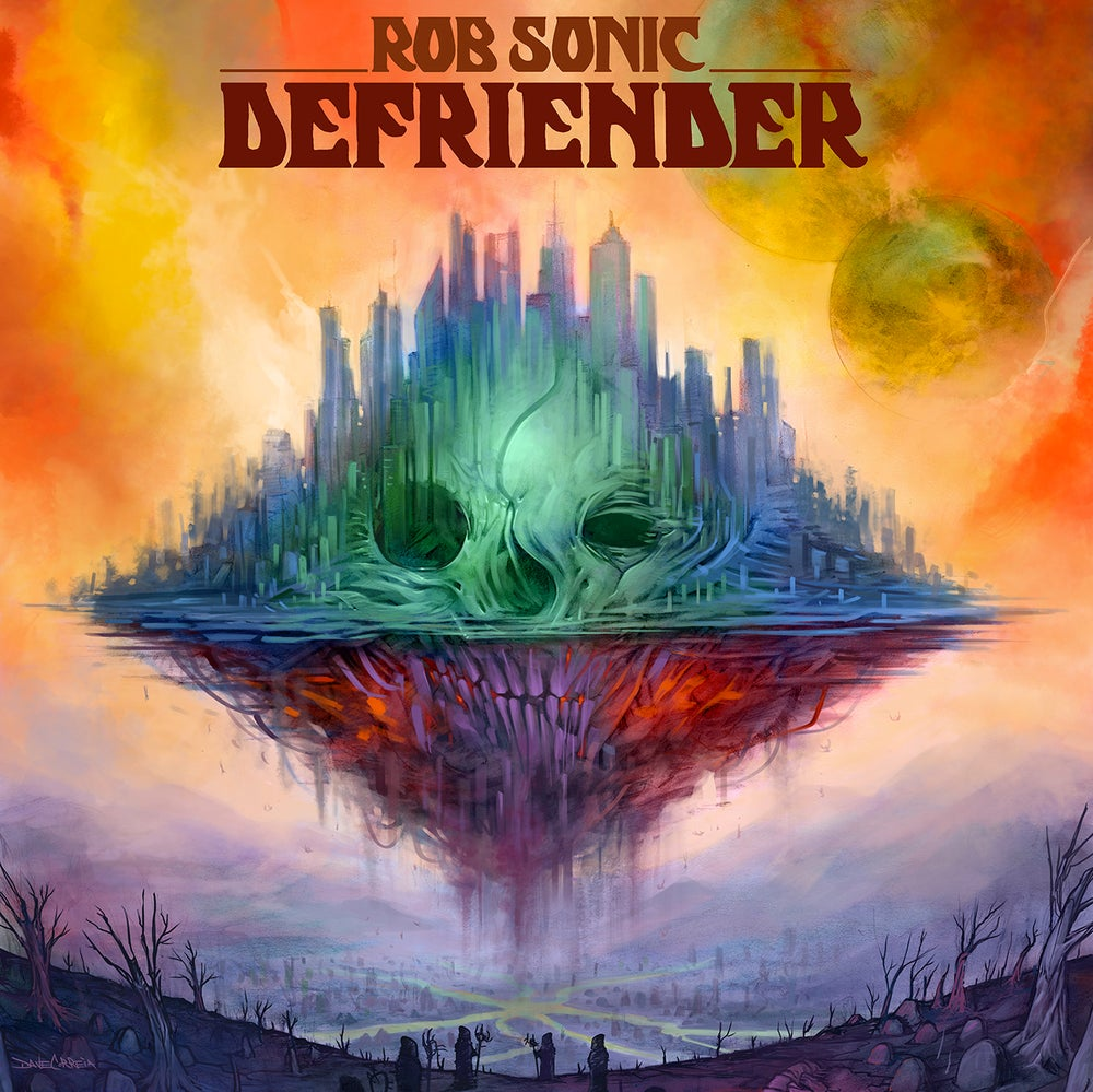 Image of Defriender *First Edition Vinyl & Hot Sauce Package* Numbered & signed (Limited to 250)