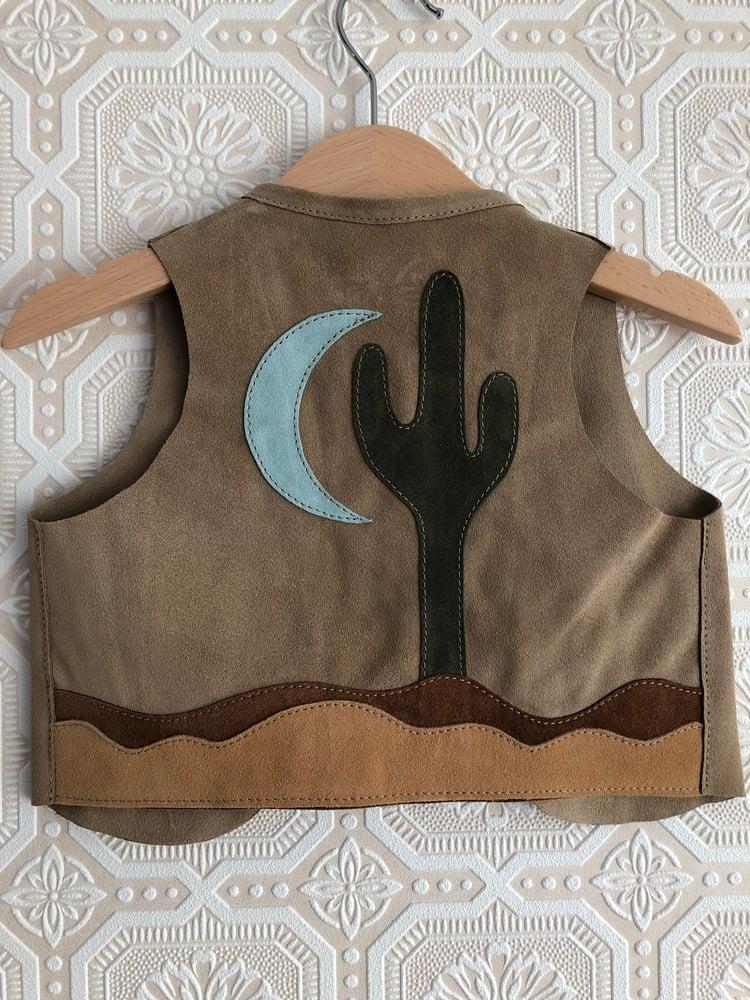 Image of COSTA SUR- Kids Saguaro Suede Vest