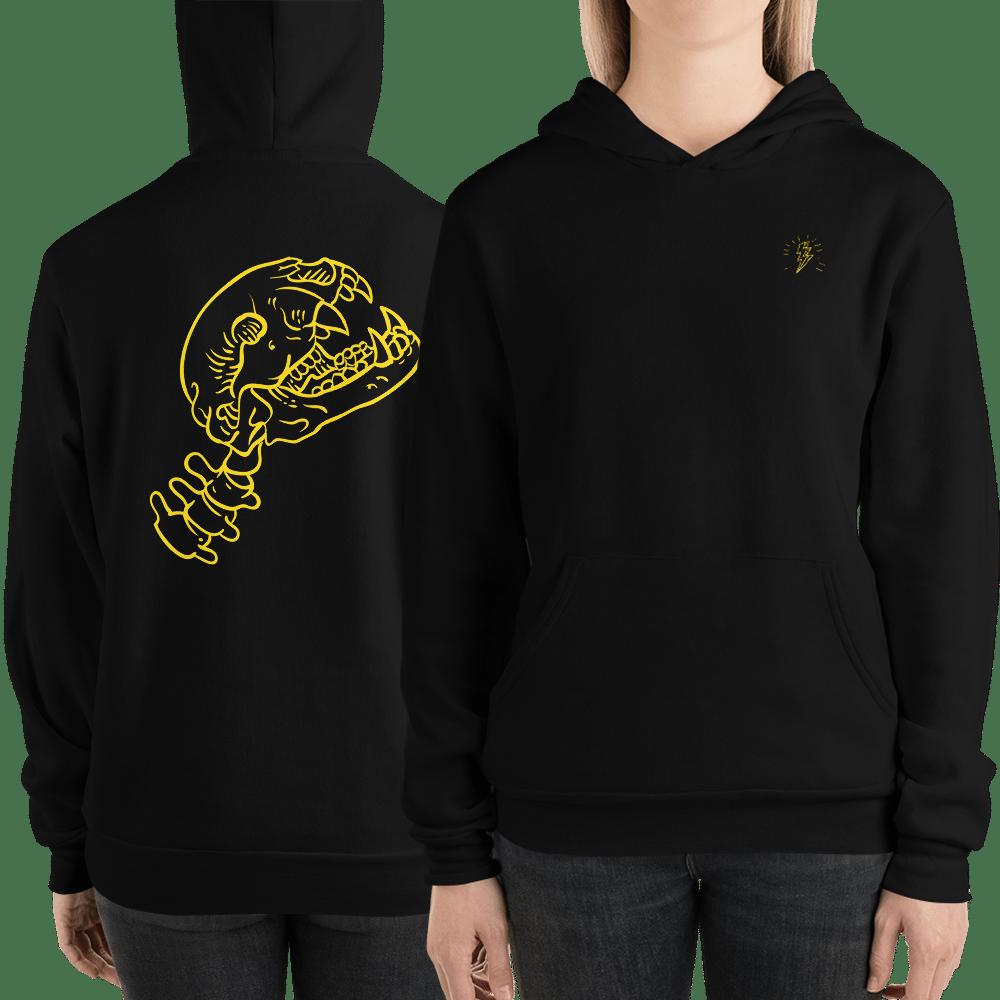 Image of Petey Unisex Skull Hoodie