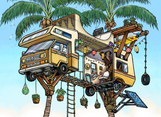 Image of Vanagon Treehouse
