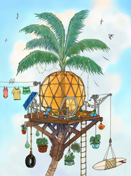 Image of Pineapple Treehouse