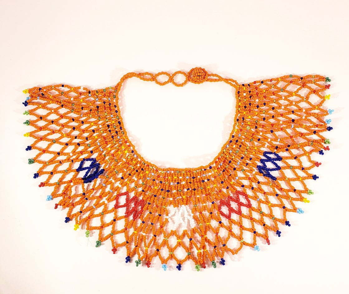Image of Beaded Bib Necklace