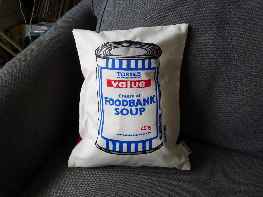 Image of Foodbank Soup Cushions