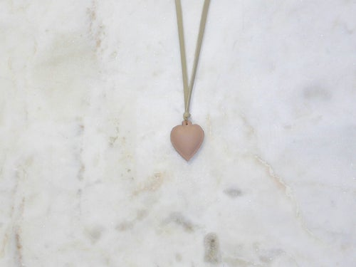 Image of Rebel Chic Sacred Heart necklace