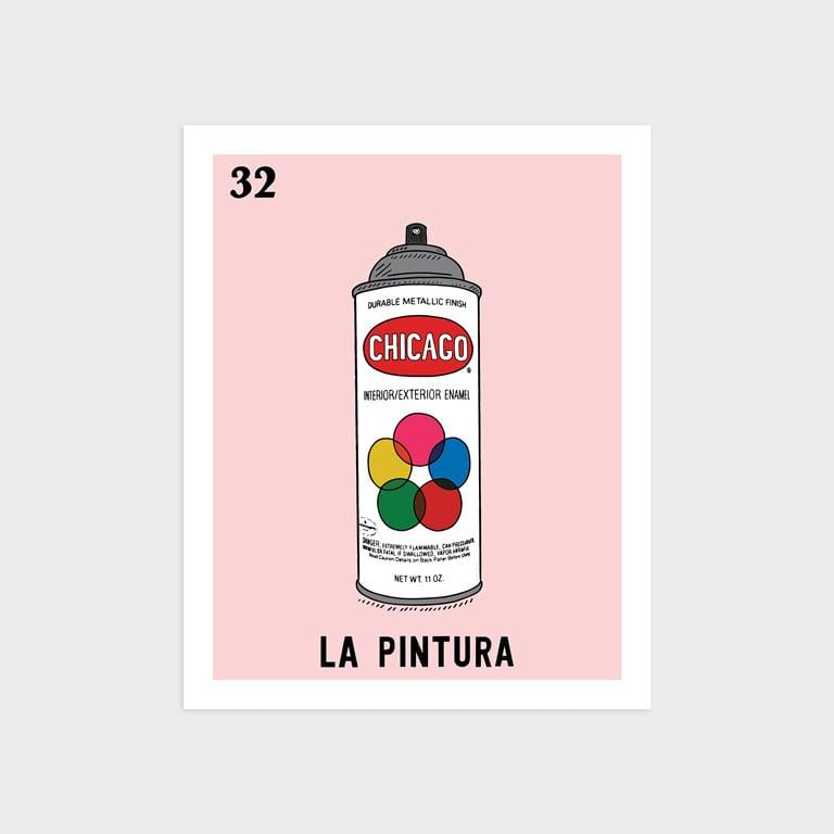 Image of La Pintura Print