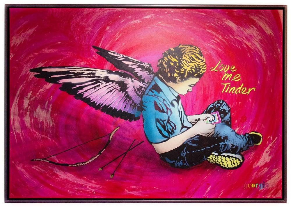 Image of Love Me Tinder - Gicleé Print