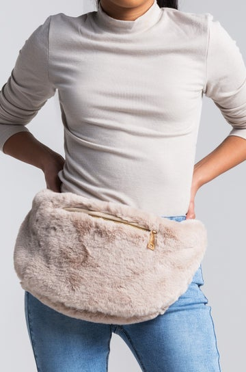 Image of Faux Fur Fanny Pack