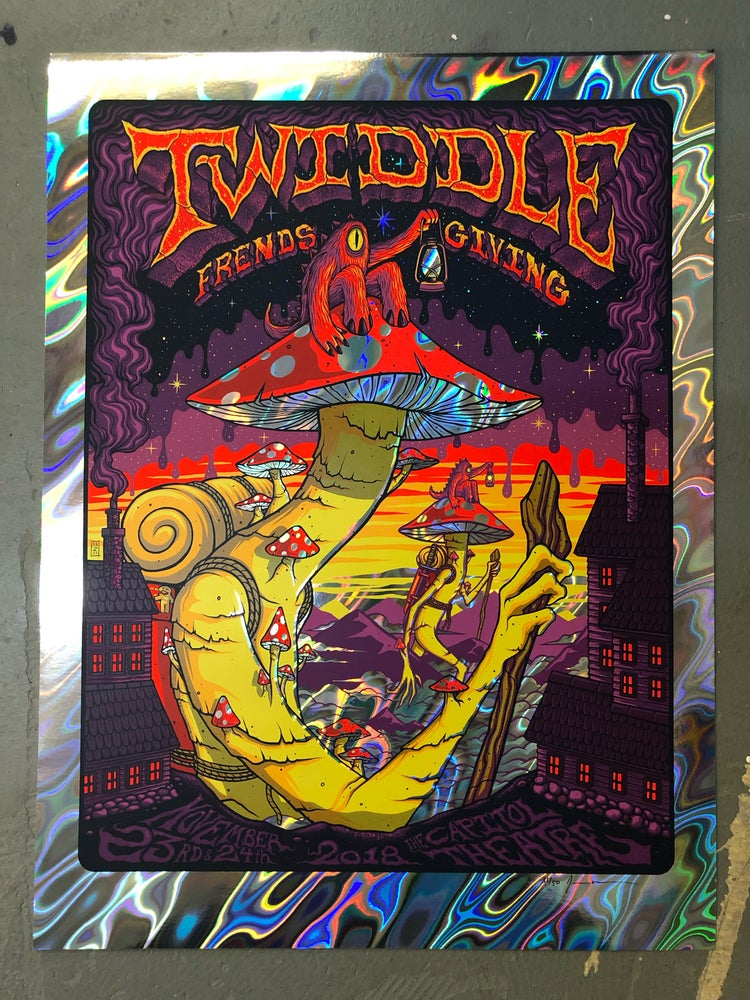 Image of Twiddle - November 23-24 2018 - The Capitol Theatre - Lava Foil Edition