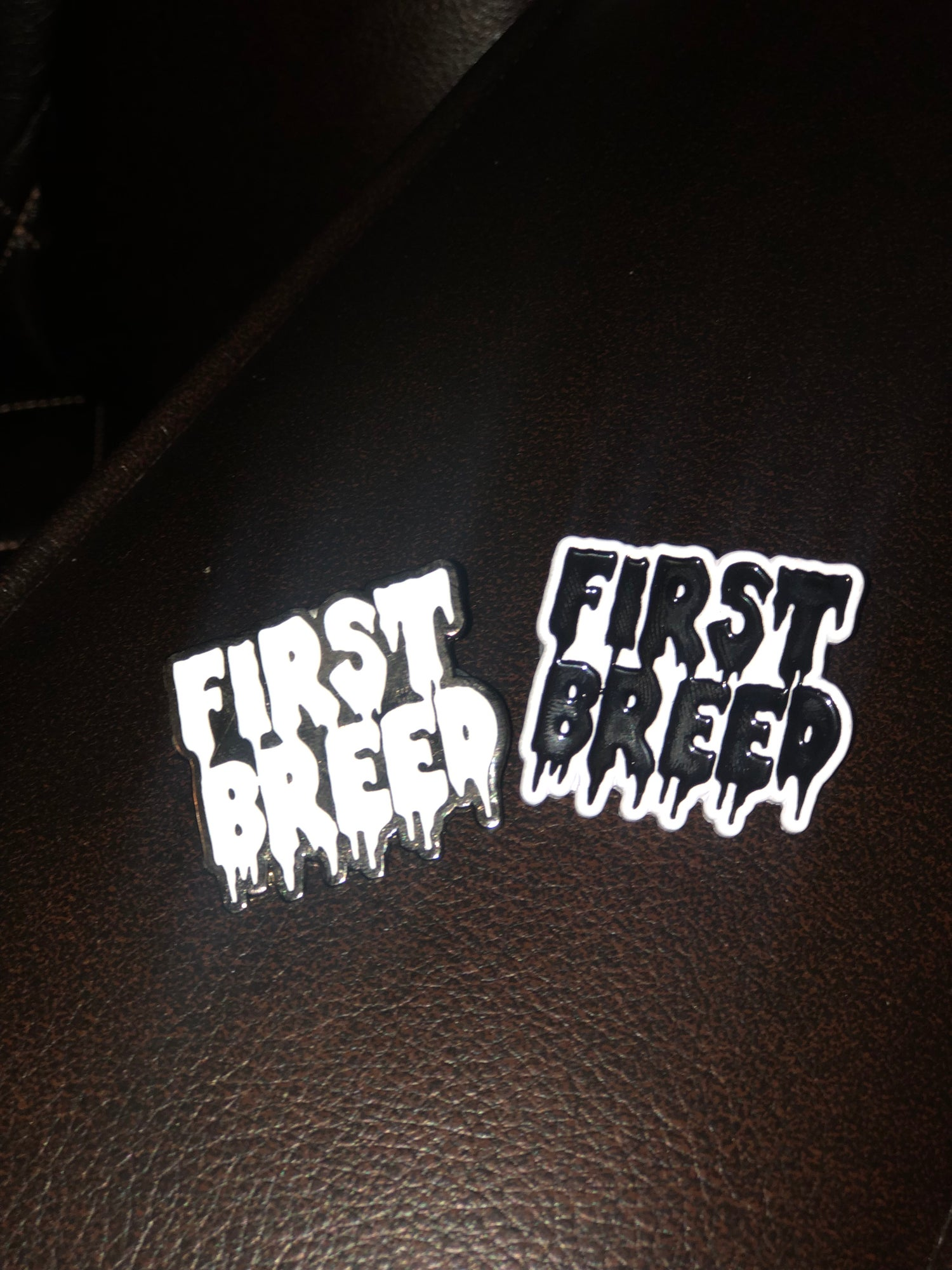 Image of First Breed Pin