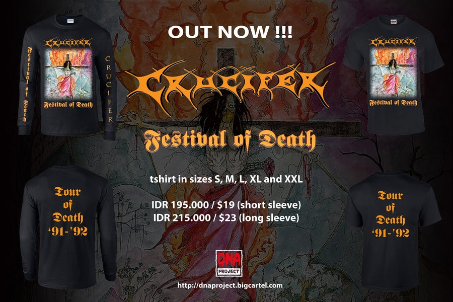 Image of Crucifer - Festival Of Death