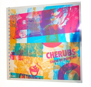 Image of Cherubs Album Cover Poster