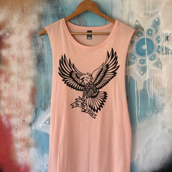 "Image of ""To Be Free"" muscle tee (unisex)"