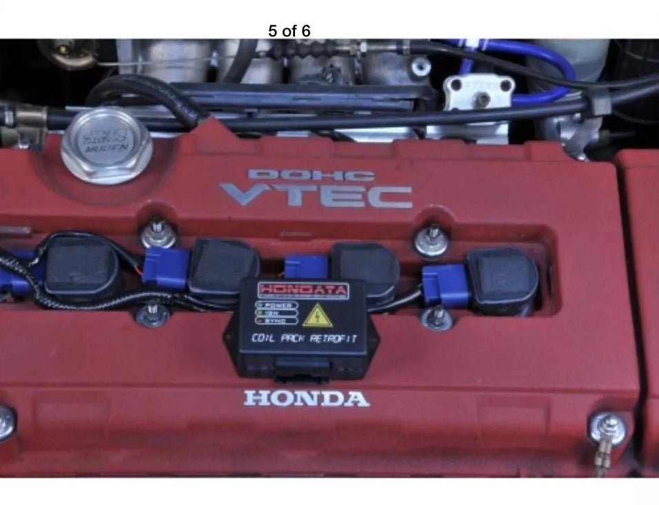 Image of Hondata Coil Pack Retrofit Kit CPR Honda Acura D B F H Series Brand New