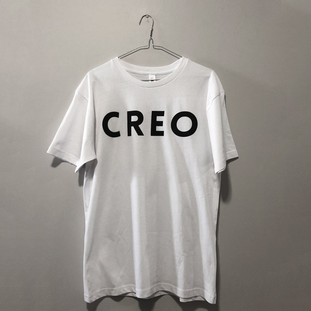 Image of White T-Shirt w. CREO Logo