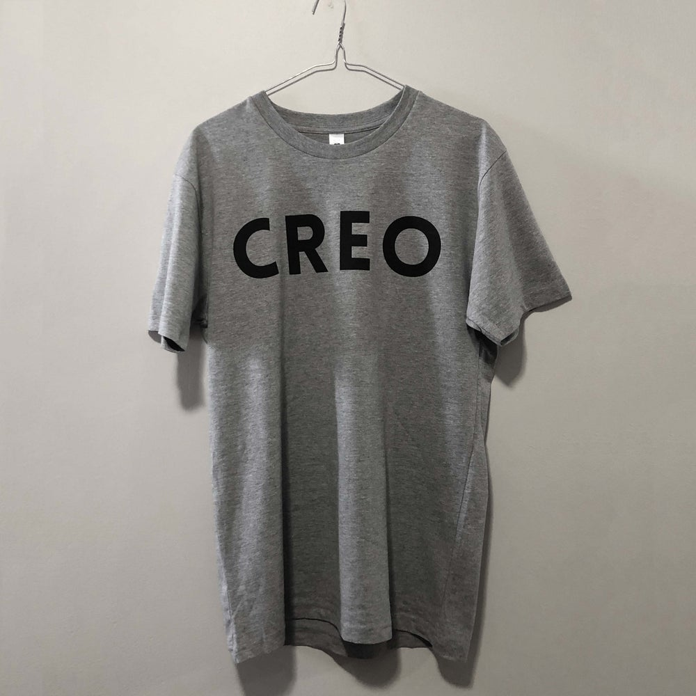 Image of Grey T-Shirt w. CREO Logo
