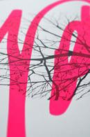 "Image 2 of ""Awaken"" - sérigraphie - Enfants Sauvages - fluo pink Ed."