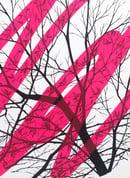 "Image 3 of ""Awaken"" - sérigraphie - Enfants Sauvages - fluo pink Ed."