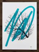 "Image of ""Awaken"" - sérigraphie - Enfants Sauvages - Blue Ed."