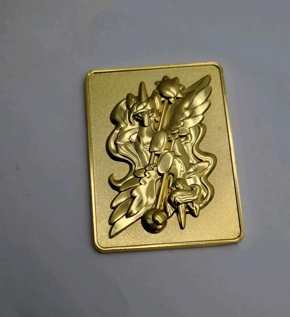 Pony Faux Gold Bullion