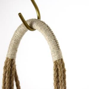 Image of Macrame Plant Hanger Wrap Knot