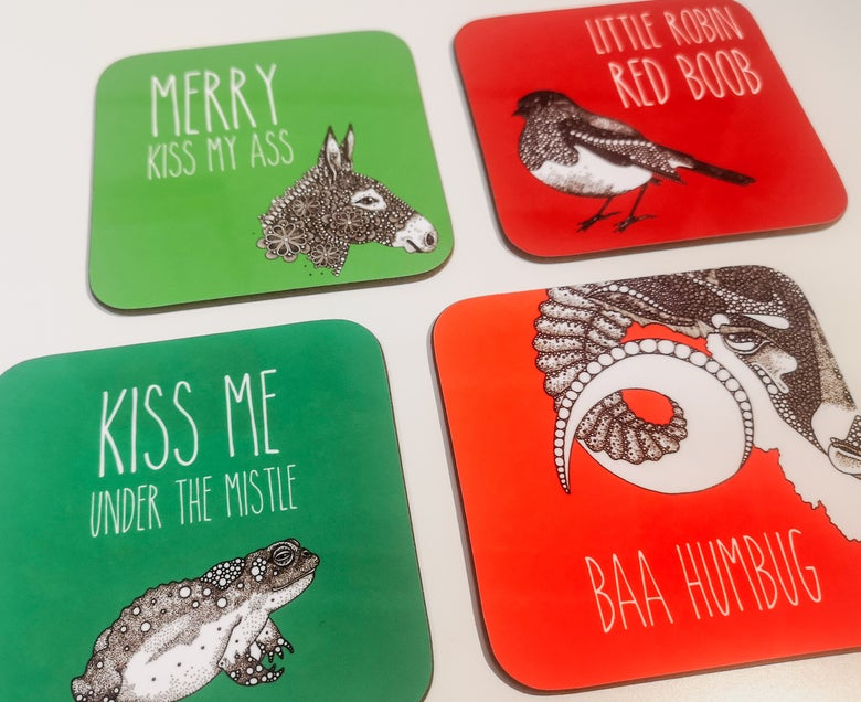 Image of Crassmas Coasters