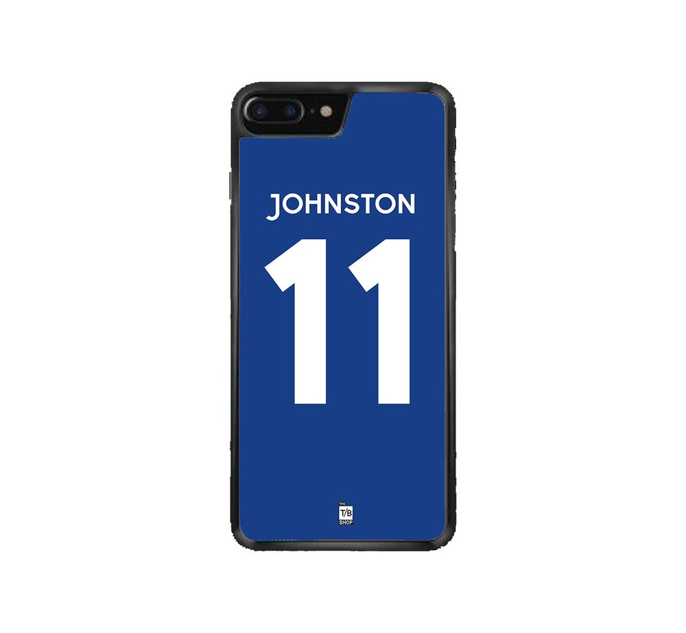 Image of Rangers 1972 home shirt phone case