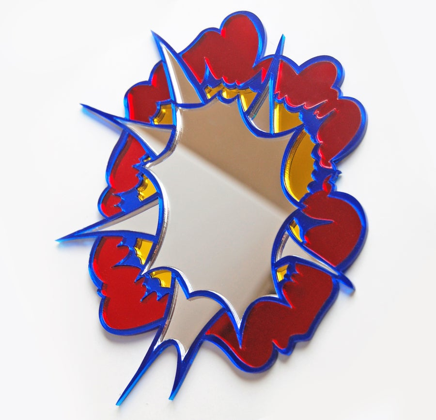 Image of Explosion mirror