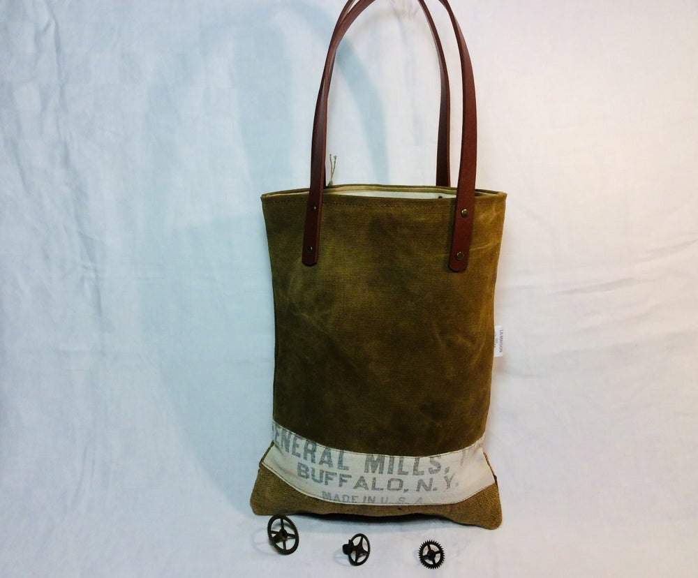 Image of Sac vintage «  chasse et pêche «