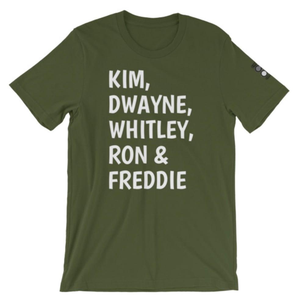 Image of ADW Allstars tee shirt