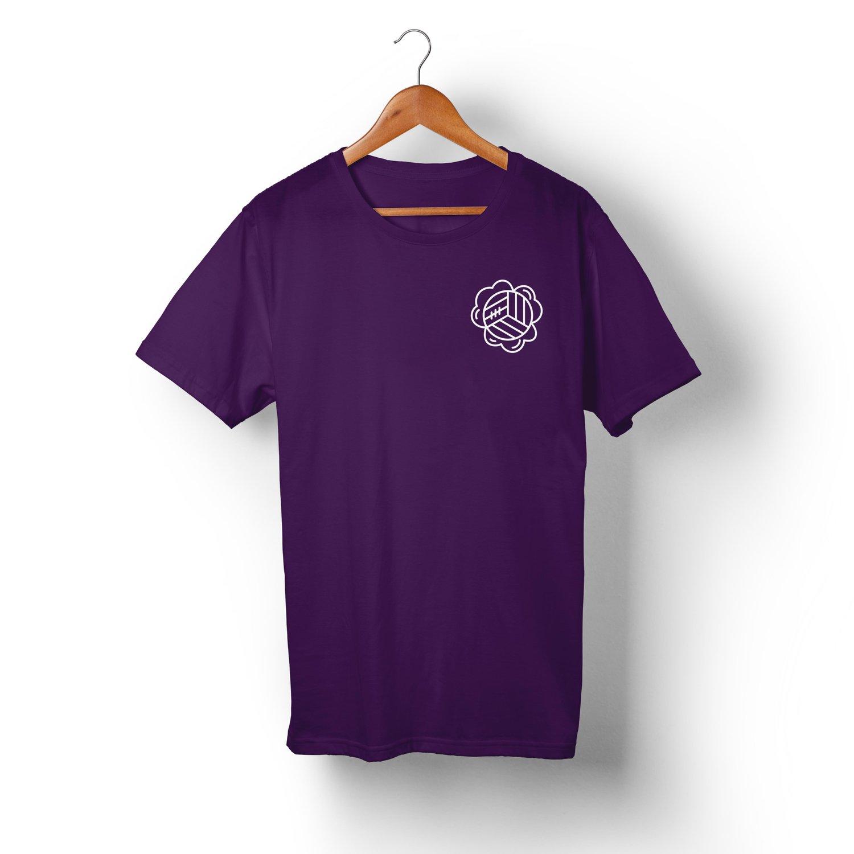 Image of X005 Classic Logo - Purple
