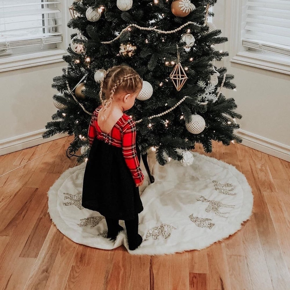 Image of The Lenny Scoop Back Holiday Dress