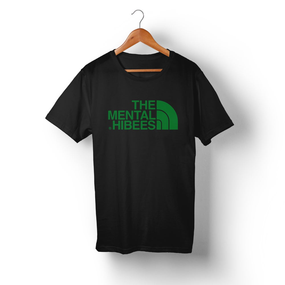 Image of X015 The Mental Hibees - Big Logo Black