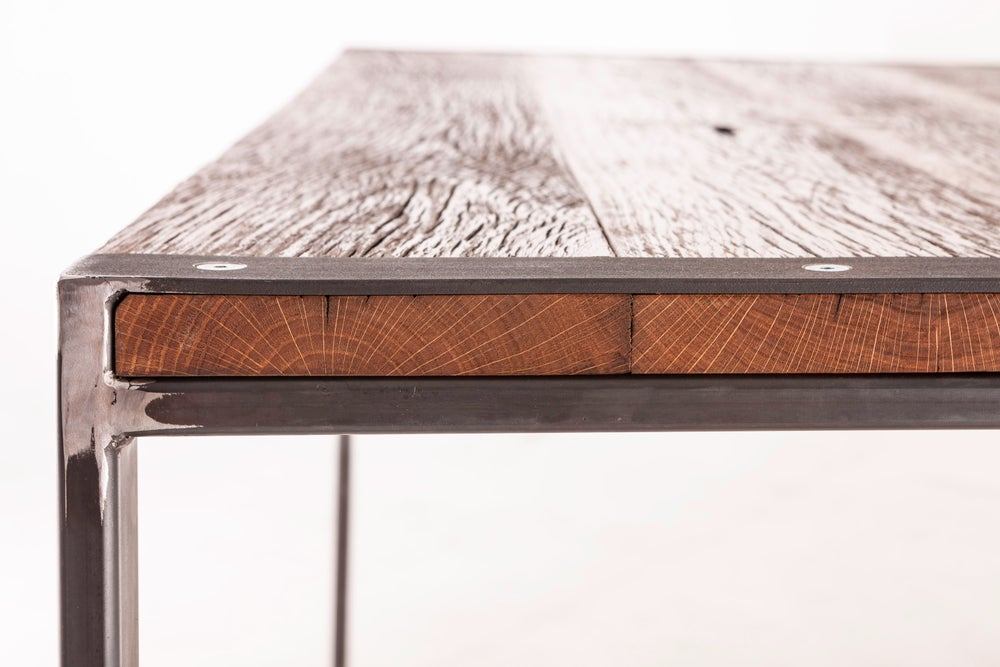 Image of OLD OAK DINING TABLE CLASSIC