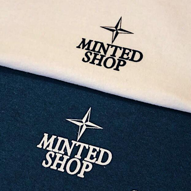 Image of 2018 Minted Shop Archivo Tee - Blue