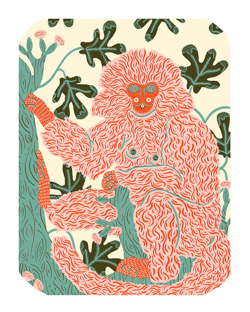 Image of Marmoset Print