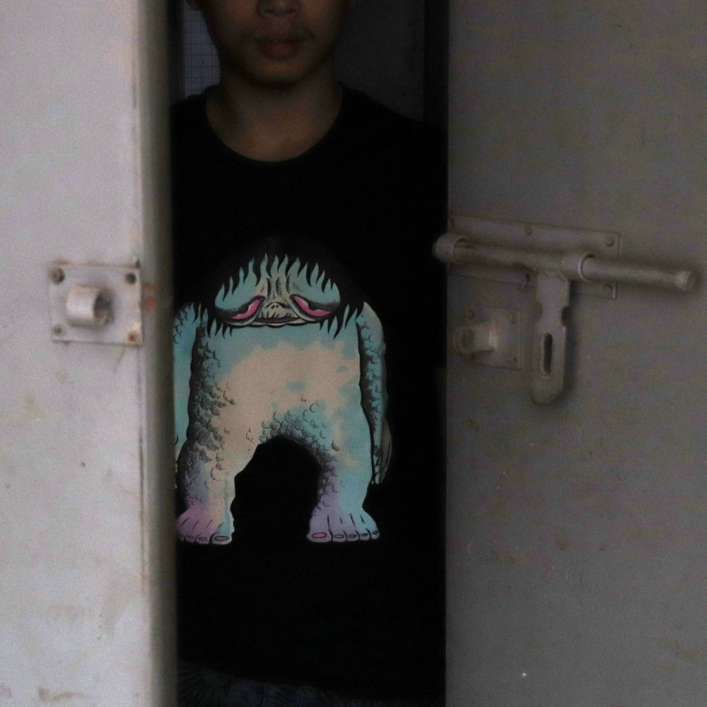 Image of THE LOVELY MONSTER GID TEE SHIRT