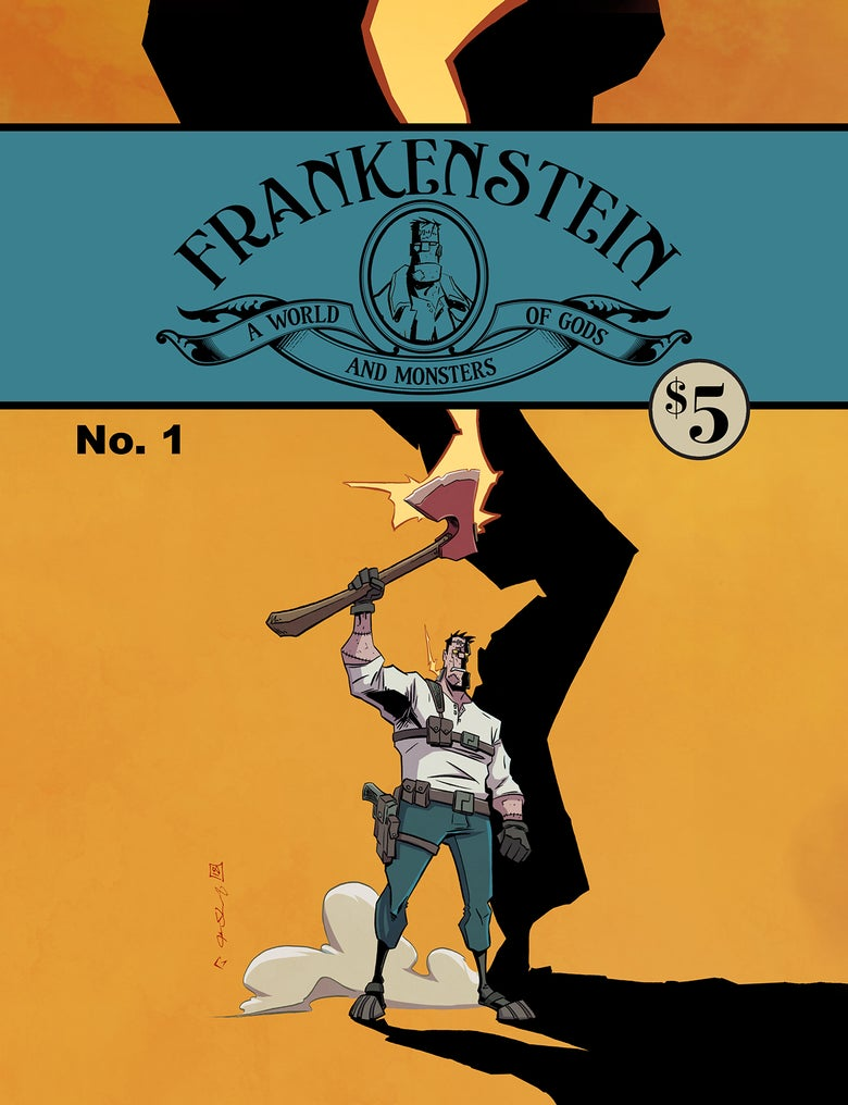 Image of Frankenstein: A world of Gods & Monsters #1