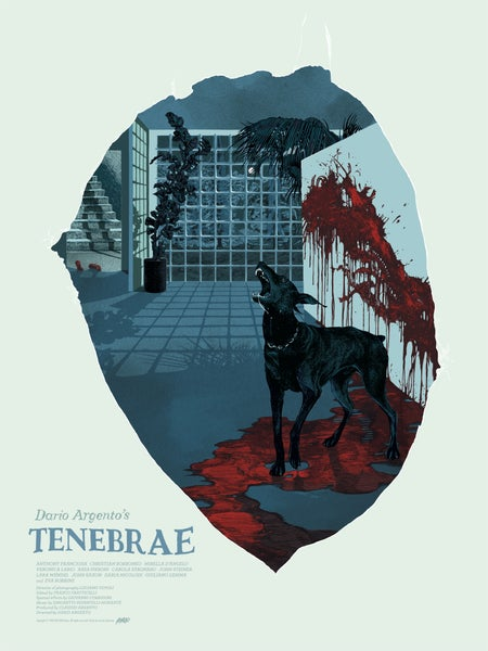 "Image of Tenebrae (Mondo) • Limited Edition Official Poster (18"" x 24"")"