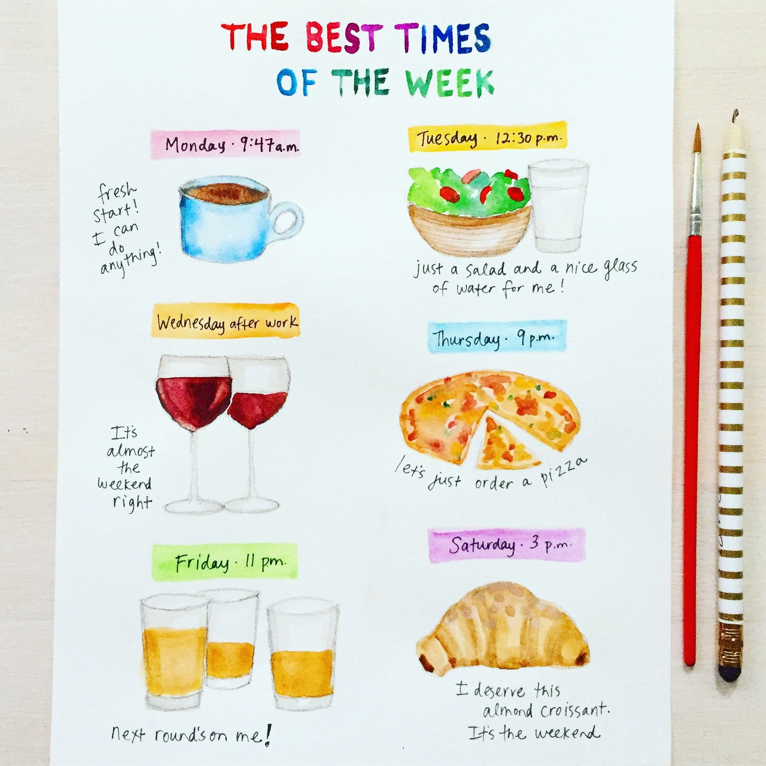 Image of The Best Times of the Week