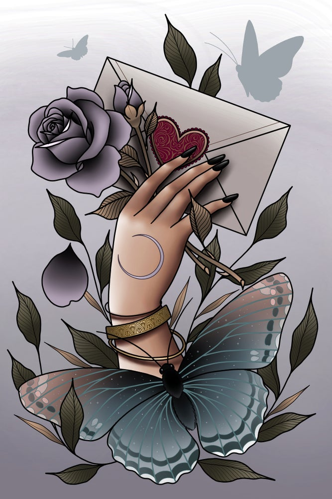 Image of 'Love Letter' Print