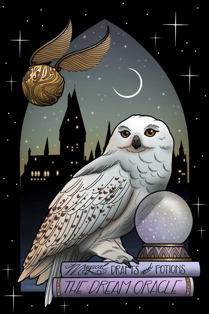 Image of 'Hedwig' Print