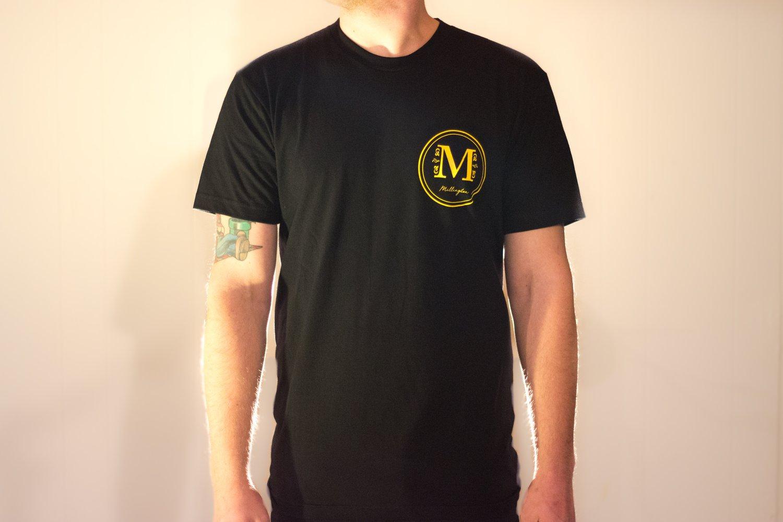 Image of Millington Logo Tee (Black)