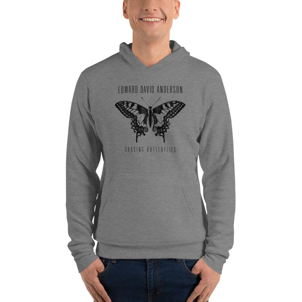 Image of Butterfly Hoodie (Grey or Black)