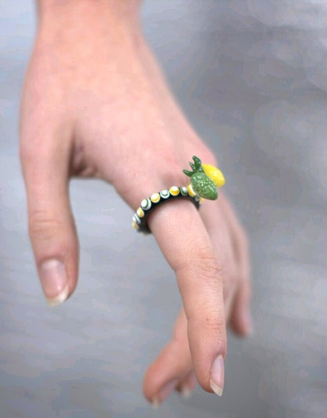 Image of Sprite Dotted Ring
