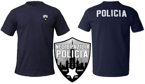 Image of Neo Brazilia Policia T-Shirt