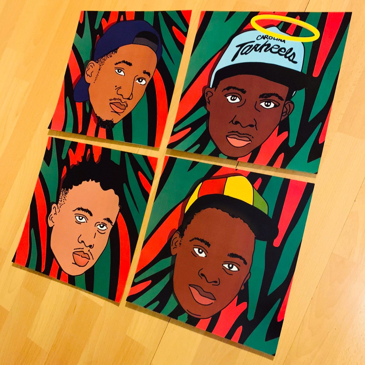 Image of Tribe, Yall. (Print Set)