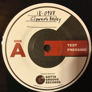 Image of A Very Clownvis Christmas *TEST PRESSING*